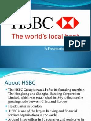 HSBC Worlds Local Bank | Hsbc | Banks