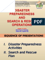 Disaster Preparedness & SARO