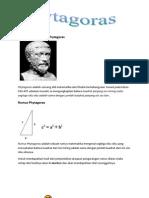 Pengertian Teorema Phytagoras
