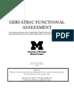 Geriatric Functional Assess