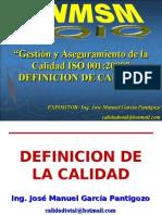02 - DEFINICION DE LA CALIDAD