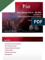 Exalt EX-s Series Presentation FINAL 121908 v7-2