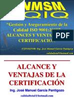 10 - ALCANCES Y VENTAJAS DE LA CERTIFICACION