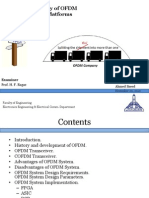 Comparative Study of OFDM Implementation Platforms