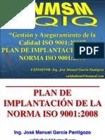 13 - PLAN DE IMPLANTACION DE LA NORMA ISO 9001:2008