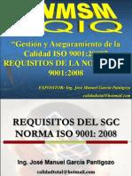 14  - REQUISITOS DE LA NORMA ISO 9001:2008