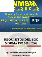 14  - REQUISITOS DE LA NORMA ISO 9001:2008