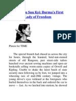 Aung San Suu Kyi_Burma's First Lady of Freedom