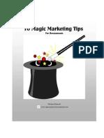 10 Magic Marketing Tips for Restaurant