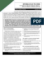 Hydraulic Fluids - Tfacts99
