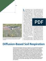 Diffusion-Based Soil Respiration
