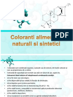 Coloranti Alimentari Naturali Si Sintetici