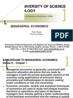 Managerial Ecconomics - Lecture Notes