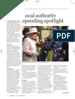 Local authority spending spotlight