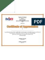 Certificate of appreciation 3 certificate of appreciation uno yadclub Images