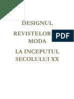 Designul Revistelor de Moda de La Inceputul Secolului XX