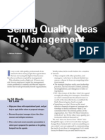 Selling Quality Ideas to Management