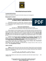 Tausiyah Dsd Kota Bogor Tentang Sholat