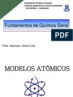 Aula 1 Modelos atomicos