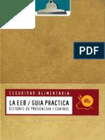 Guía práctica. La EEB sistemas de prevención y control.