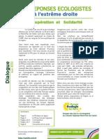 Argumetaire anti-FN par EELV NPDC