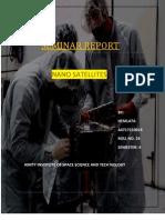 Nano Satellite REPORT