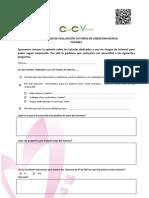 Cuestionario evaluación tutorías uso seguro de Internet (TUTORES)