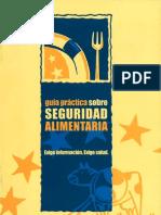 Guía práctica sobre seguridad alimentaria