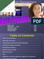 Avon-strategic Management Case
