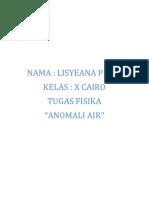 Anomali Air