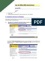 Software del lector de DNIe (DNI electrónico)