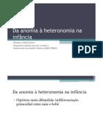 Anomia Heteronomia