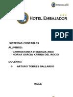 Hotel Embajador Terminado