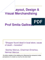 RMM Mod 5 - Store Design Layout Visual Merchandising Retail Promotion