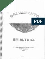 MANUAL DE SALVAMENTO EM ALTURA - GOIÁS