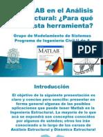 MATLAB Aplicado Al Analisis Estructural