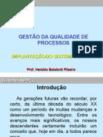 Aplicação do Sistema - APPCC