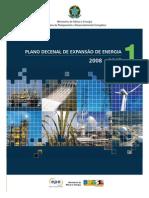 PLANO DECENAL DE EXPANSÃO DE ENERGIA 2008-2017