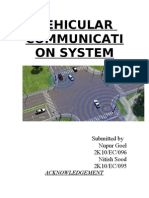 Vehicular Communication System