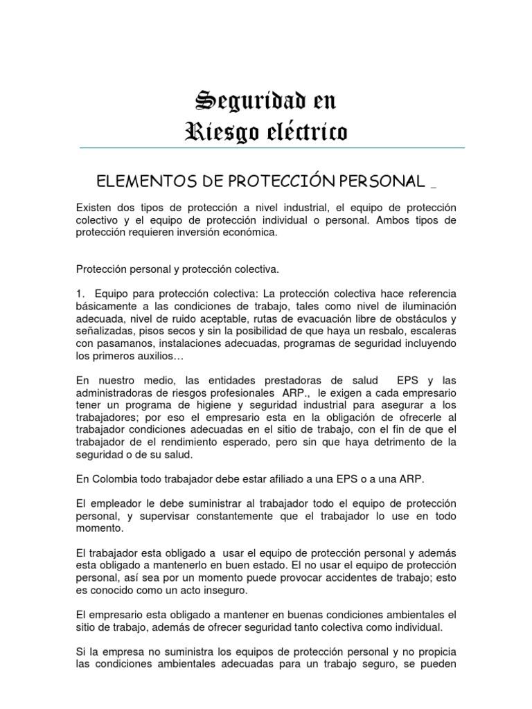 d959b8bed0cb1 ELEMENTOS DE PROTECCIÓN PERSONAL