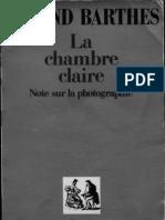 Roland Barthes - La Chambre Claire
