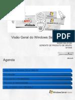 1 - Windows Server 2008 R2 Overview - Visao Geral