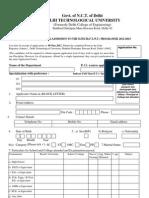 Admission Form Mtech 2012 Ft Pt[1]
