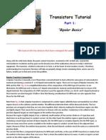 Transistors Tutorial