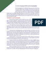 Sắc ký khí ghép khối phổ và một số ứng dụng