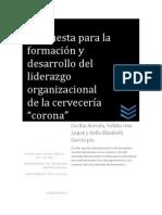Inv. de Gpo Corona en El Desarrollo Del Liderazgo