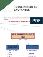 Hiperinsulinismo en Lactantes