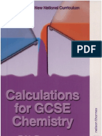 Calculations for Gcse Chemistry