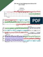 Fuge B-dur, BWV 866