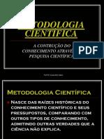 METODOLOGIACIENTIFICAEContdoConhec1